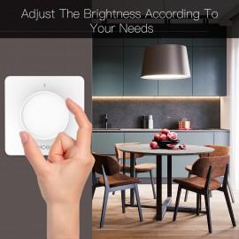 Tekerő gombos fényerőszabályzó