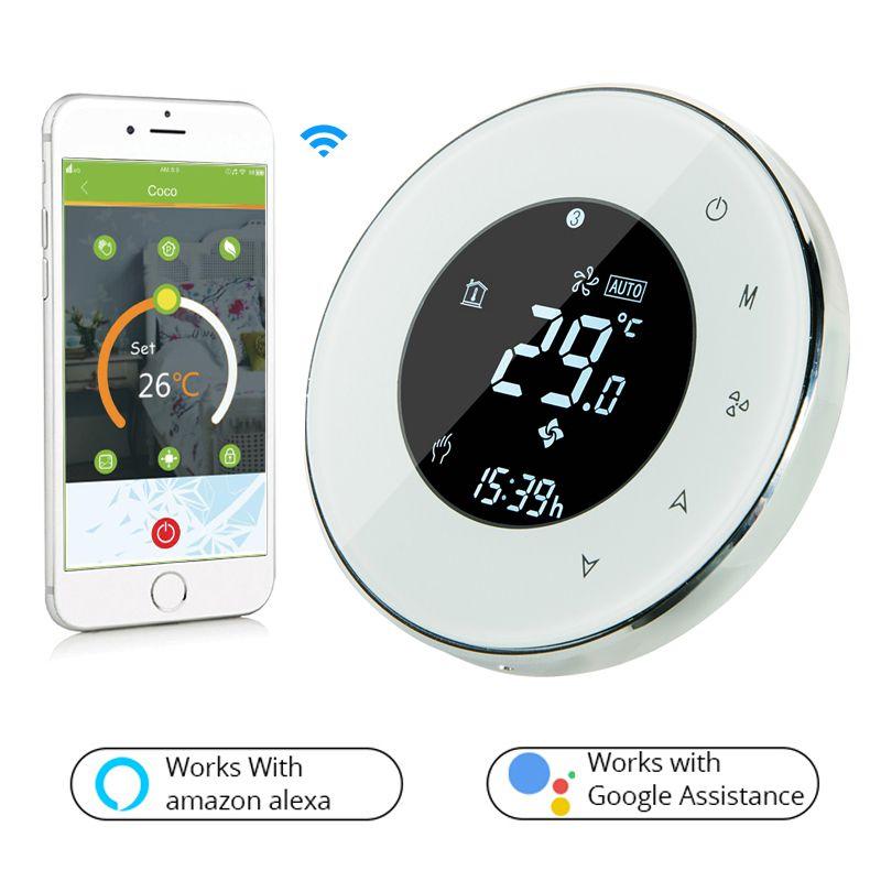 okos termosztát elektromos fűtéshez BHT-6000